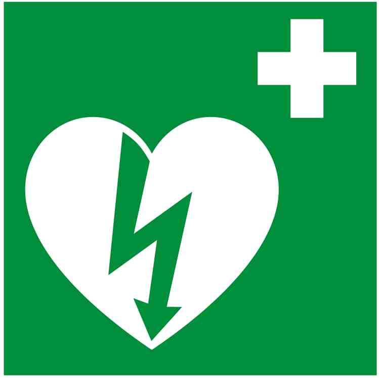 Defibrillator Pictogramm